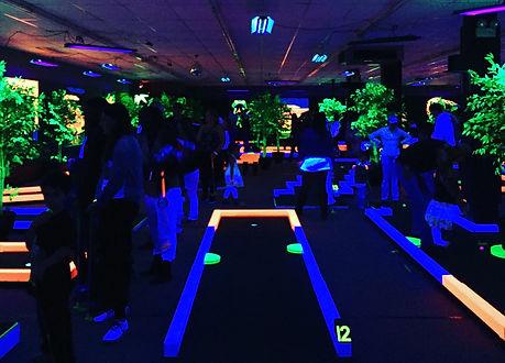 Glow Putt Mini Golf Corporate Team Building