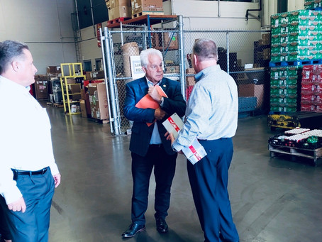 Rep. Phil Plummer Coca-Cola Consolidated Dayton Tour