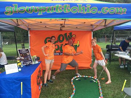 Glow Putt Mini Golf Trade Show