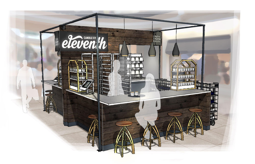 Eleventh Candle to open retail locations at Polaris Fashion Place, The Mall at Tuttle Crossing