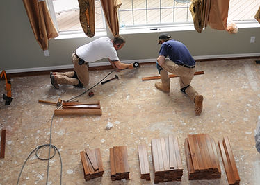 Hardwood Floor Installation - Constructi