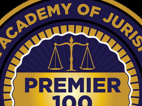 Ronald R. Petroff Receives Premier 100 Designation from National Academy of Jurisprudence