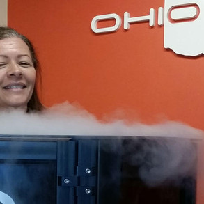 Freezing for Pain Relieving: WOSU features Ohio Cryo
