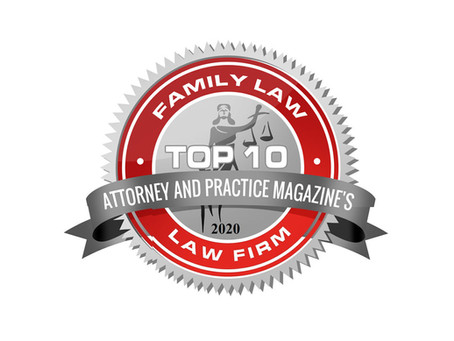 Attorney and Practice Magazine: Top 10 Family Law Firm Award