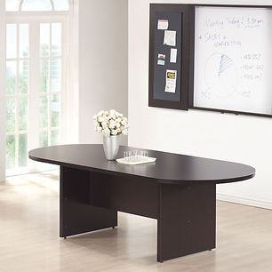 OS Laminate Conference Table--Racetrack 8ft