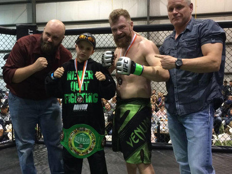 Pastor Turned MMA Fighter Wins in #FightForGunnar