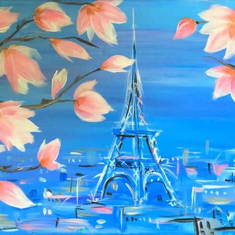 Eiffel Blossoms