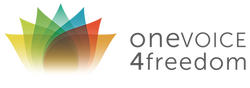 OneVOICE4freedom logo