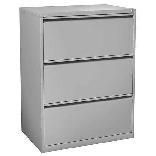Office Source Metal Lateral File 3-Drawer