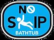 No Slip Bathtub Logo