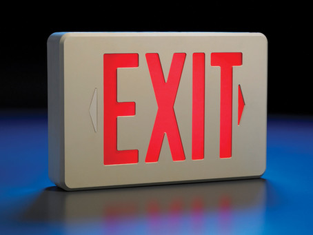 4 Factors You Should Consider Before You Buy an Emergency Exit Sign