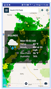 Ag Weather Tools