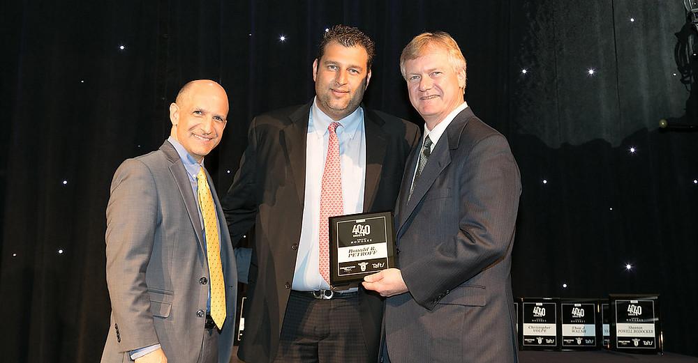 Managing Partner Ronald R. Petroff Receives Columbus Business First 40 Under 40 Award