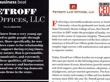 "New Albany White Fence Living Magazine ""Business Beat"""
