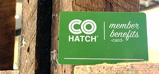COhatch Member Benefits Card