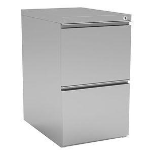 OS Metal File-File Pedestal