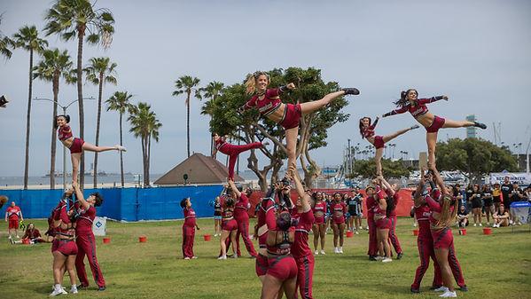 Pride Cheerleading Association Long Beach PRIDE 2019