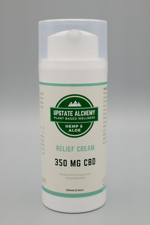 350mg CBD Relief Cream 3.3oz