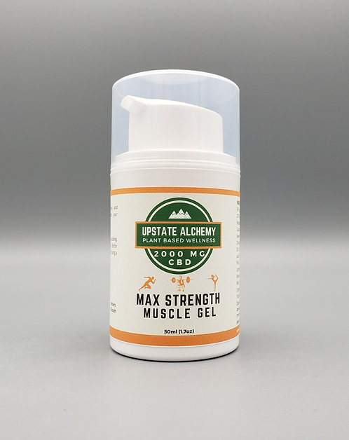 Maximum Strength CBD Muscle Gel