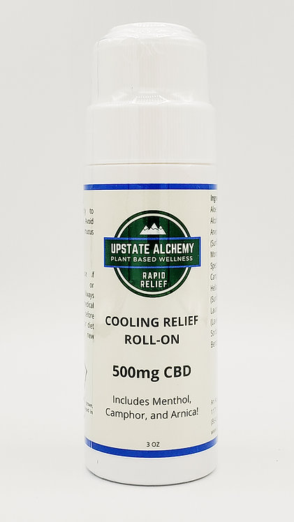 500mg CBD Cooling Relief Roll-On 3oz