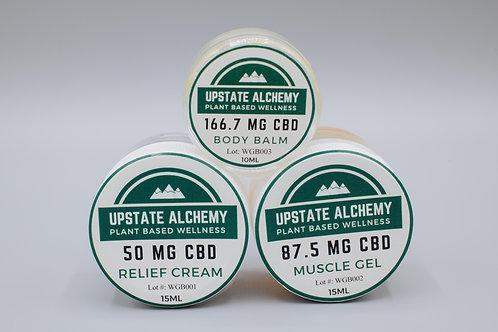 CBD Topical Sampler Pack