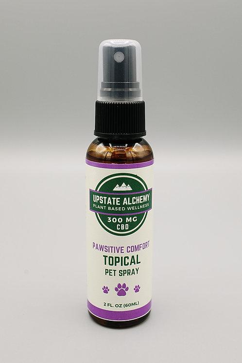 Pawsitive Comfort Topical CBD Pet Spray 2oz