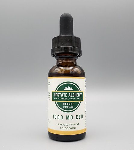 Orange Cream CBD Tincture 1000mg