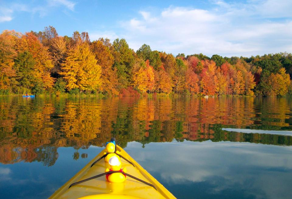 A Few Changes Coming, and Kayaking