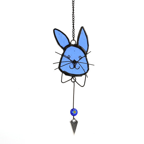 Hanging Bunny with Bow Tie
