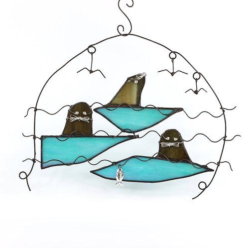 Seals in the Sea