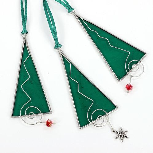 Three Christmas Tree Ornaments