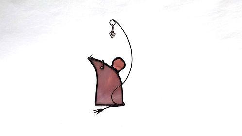 Purple Mouse, Left Facing