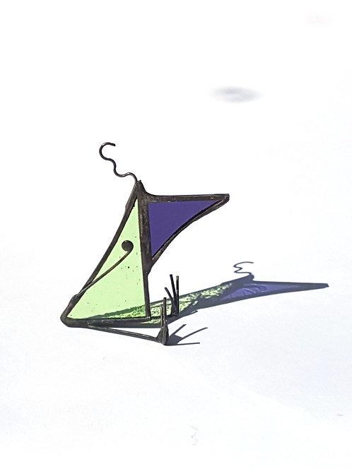 Green Little Tweetie Bird