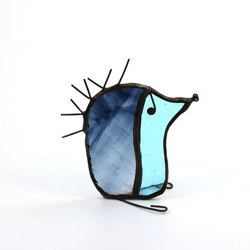 Ornamental Stained Glass Hedgehog