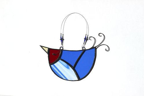 Streaky Blue U-bird