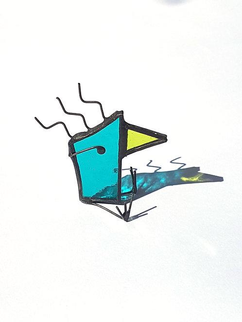 Teal Little Tweetie Bird