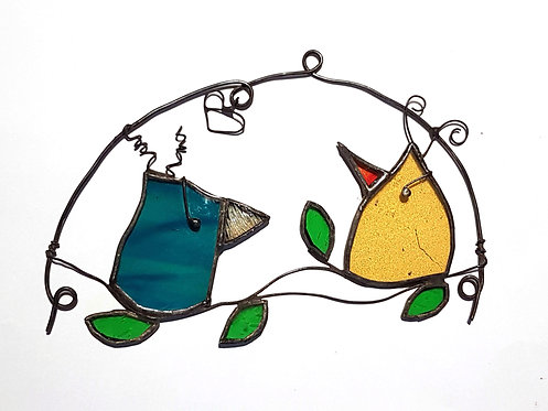Birds in a Tree Wall Hanging
