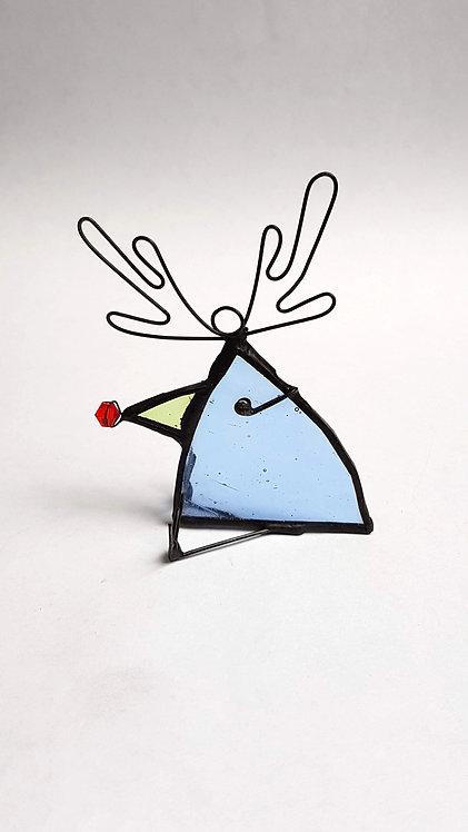 Blue Reindeer Bird