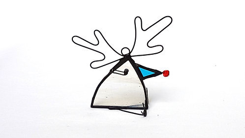 Streaky White Reindeer Bird