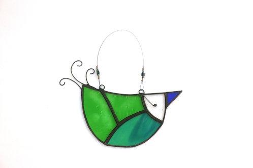 Green U-bird