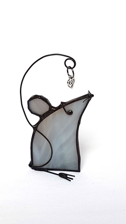 Grey Mouse Right Facing