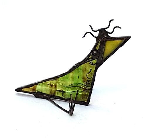 Wacky Stained Glass Bird