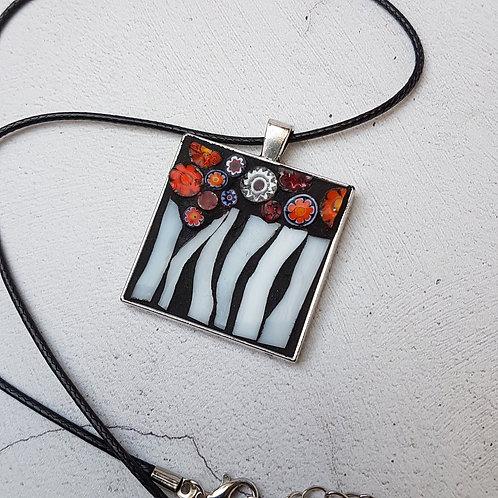 Flower Mosaic Pendant