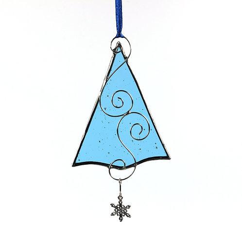 Pale Blue Christmas Tree