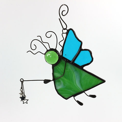 Green and Blue Fairy