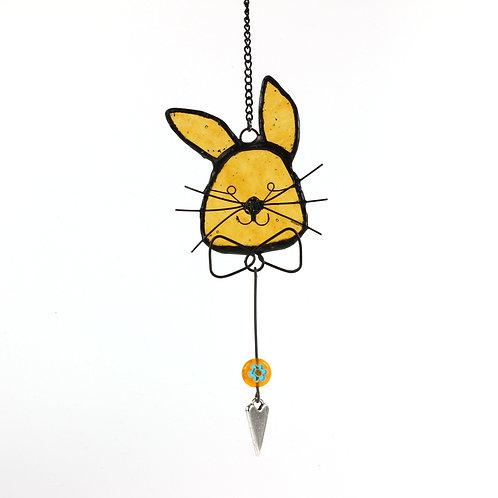 Orange Bow Tie Bunny