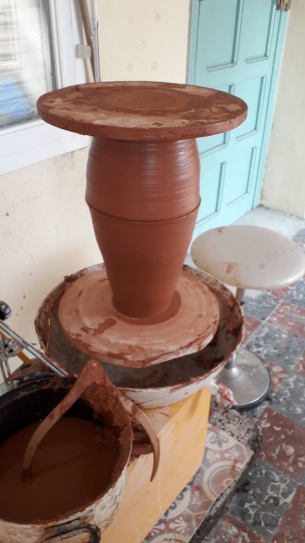 Amphora - assembling
