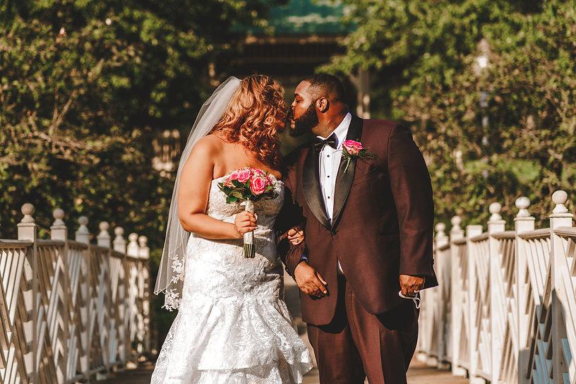 portrait of black couple