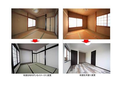 リフォーム事例 和室