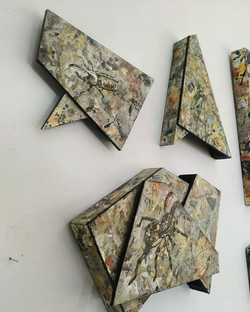 The full set. Camouflage assemblage series